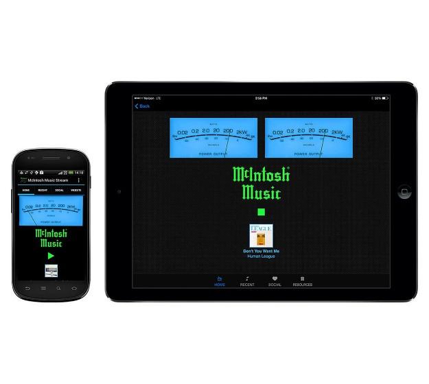 Изображение מֻמְחִיּוּת מוצרים - McIntosh Music Audio Stream and App
